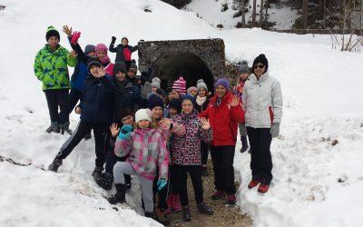 Šola v naravi  Peca